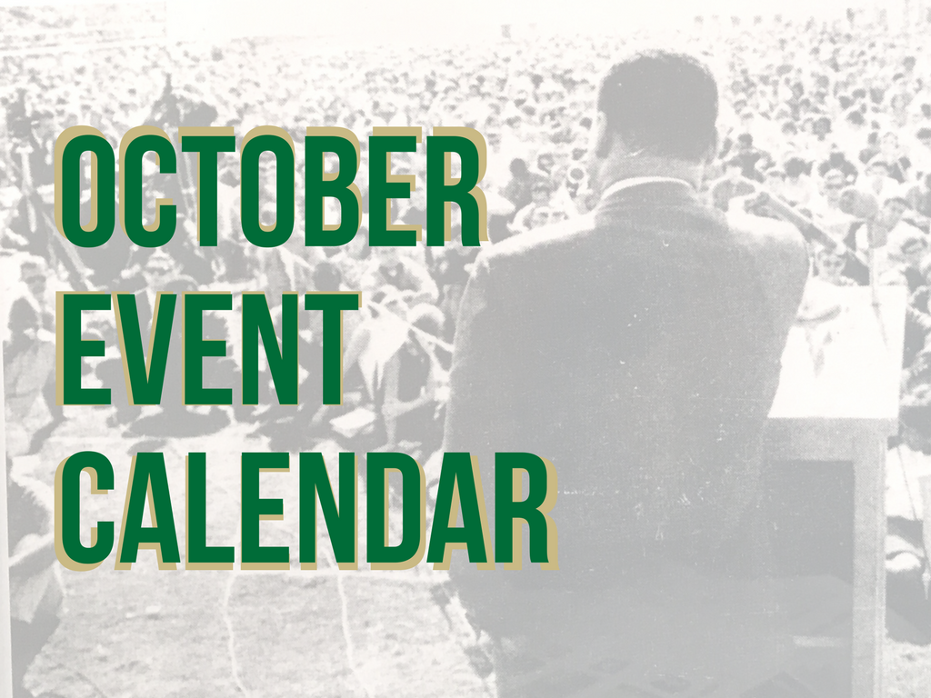 10 can't-miss campus events in October