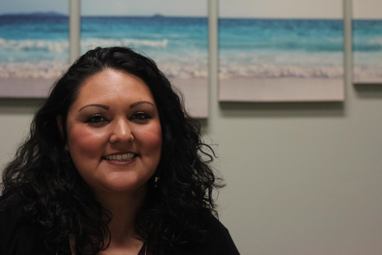 Danielle Muñoz, Sacramento State's Student Affairs case manager, has helped 118 students who are facing financial or emotional distress this semester.