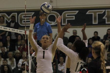 Hornets fall to North Dakota volleyball in Big Sky championship match