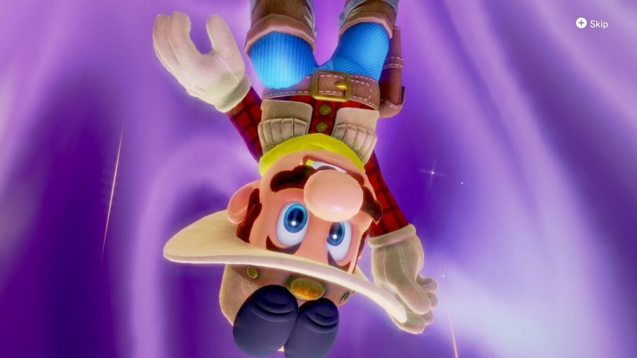 Mario's not limited to wearing just his iconic red shirt and blue overalls in this one.  He can now don a variety of different costumes, including a cowboy get-up, a clown wig with poofy pants and even a cool space suit.
