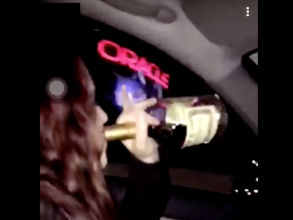 Sacramento State student Hayley Hagen appears to be drinking while driving in videos posted by a friend on Facebook and Twitter. Social media profiles indicate Hagen is a 19-year-old freshman criminal justice major.