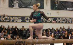Rice injured as Sac State gymnastics team falls to Washington