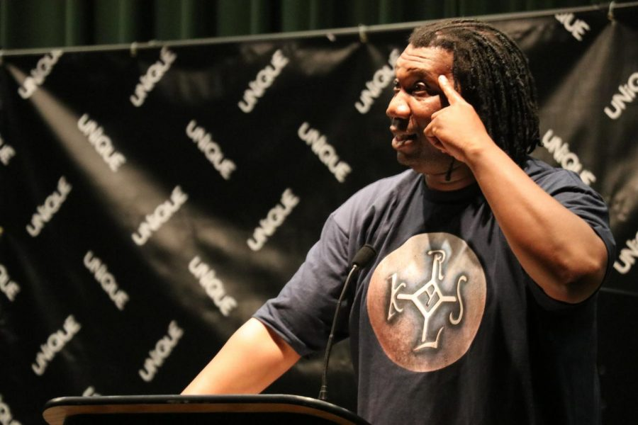 KRS-One lecture ends with impromptu performance
