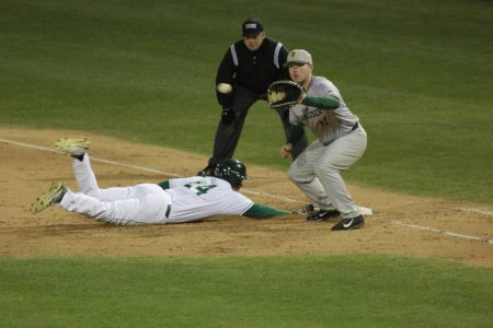 Baseball team falls to San Francisco in extra innings