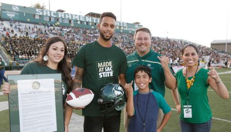 'Hometown Hero' Anthony Sadler on playing himself on the big screen