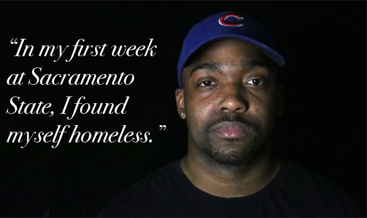 TESTIMONIAL: Spending my first week at Sac State homeless