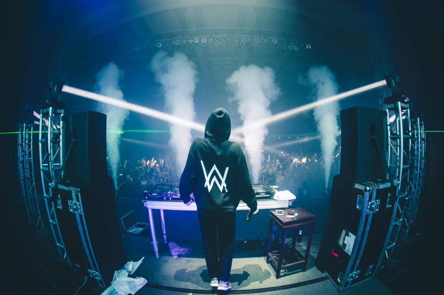 The Monster Energy Up & Up College Festival concert on Oct. 26, 2017, featuring Alan Walker, is held at the City National Civic building in San Jose. The event was hosted by the students of San Jose State University.