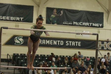 Sac State gymnast recalls her freshman year's challenges and successes