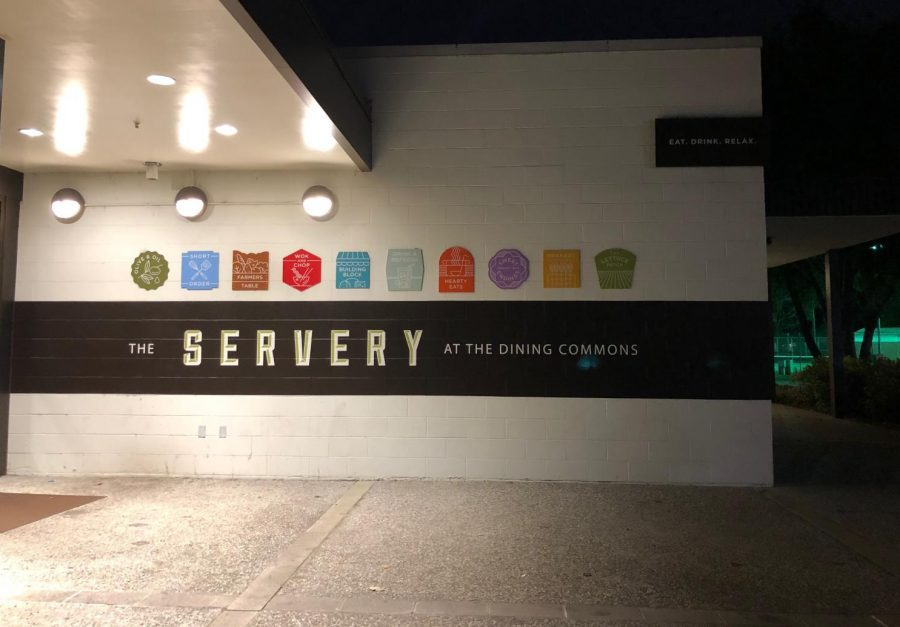 The+Servery+at+the+Dining+Commons+is+open+for+breakfast%2C+lunch+and+dinner+seven+days+a+week.+In+a+Feb.+16+health+inspection%2C+three+major+violations+were+observed+by+a+health+inspector.+