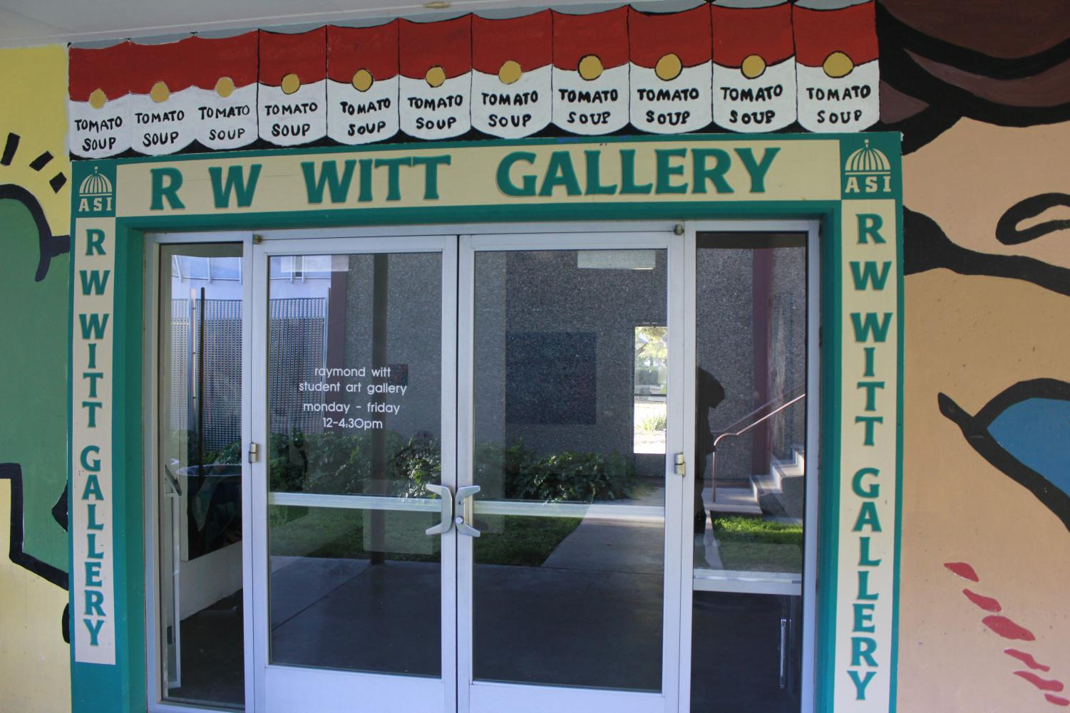 The R.W. Witt Gallery in the Art Department at Sacramento State. Ray Carrington of the Carrington Foundation of Public Art recently donated $10,000 to the art department with