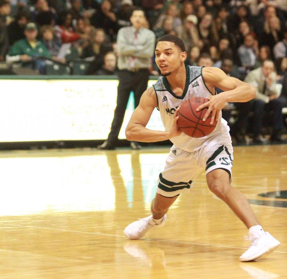 Sacramento State junior Jordan Tolbert has stepped into the role of guard for the men's basketball team during its injury-plagued season. Sac State will begin postseason play against Portland State in the Big Sky Tournament on Tuesday, March 6, 2018.