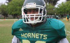 Despite size, sophomore strives to make football team as a walk-on