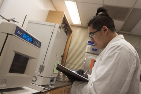 Sac State students, professor developing anti-HIV agents