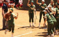 Walk-off hits help lead softball team in sweep over Southern Utah
