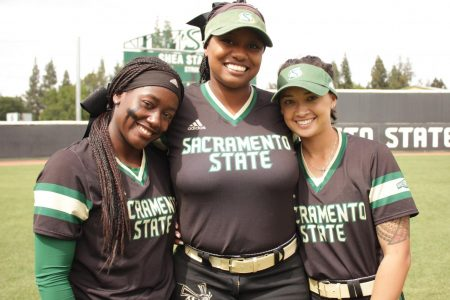 Childhood softball teammates wrap up collegiate careers together