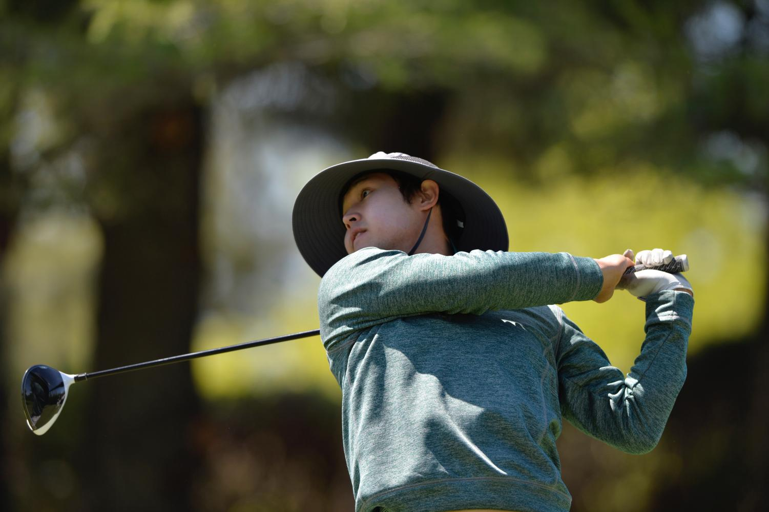 Sacramento State senior Wonje Choi, who transferred from San Diego State, competes in the Sacramento State Invitational on Monday, March 5, 2018. The Hornets will compete in the Big Sky Conference Championships from Friday to Sunday in Boulder City, Nevada.