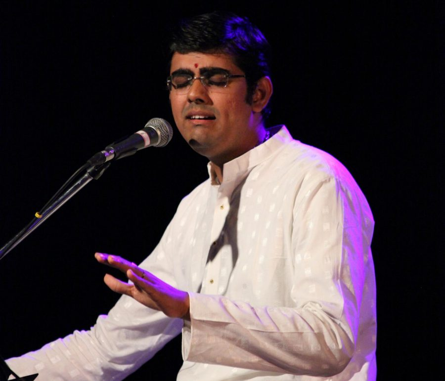 Sikkil Gurucharan, a south Indian vocalist, performs in concert on June 30, 2010. Gurucharan will perform Carnatic music on Sunday, April 29 at Capistrano Concert Hall.