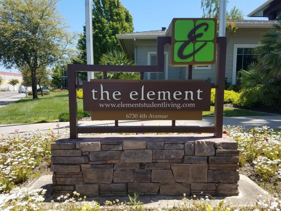 The Element apartments won best off campus living for its price and proximity to campus.