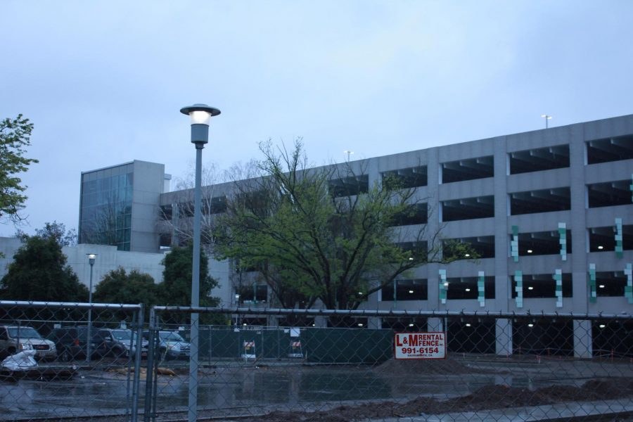 Parking Structure V to open Thursday