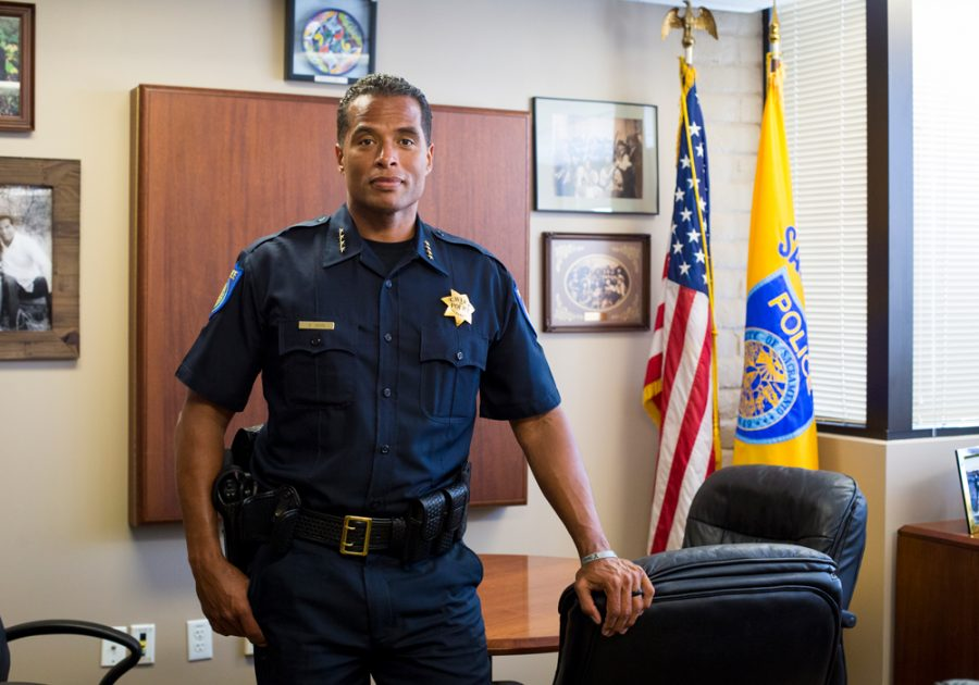 Sacramento+Chief+of+Police+Daniel+Hahn+will+not+be+attending+a+banquet+at+Sacramento+State+where+he+was+originally+going+to+be+honored.+The+Sacramento+Police+Department+has+been+under+scrutiny+following+the+fatal+shooting+of+Stephon+Clark%2C+an+unarmed+black+man%2C+in+March.