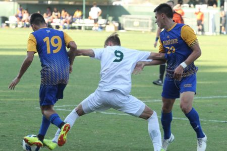 Sac State men's soccer lose in home opener to San Jose State 2-1