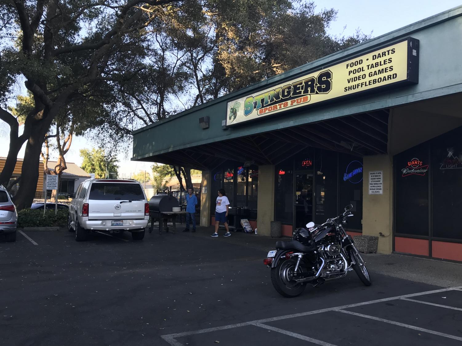 An arrest was made after shots were fired at Stingers Sports Pub Wednesday. The sports bar is popular among Sac State students and is less than a mile away from campus.