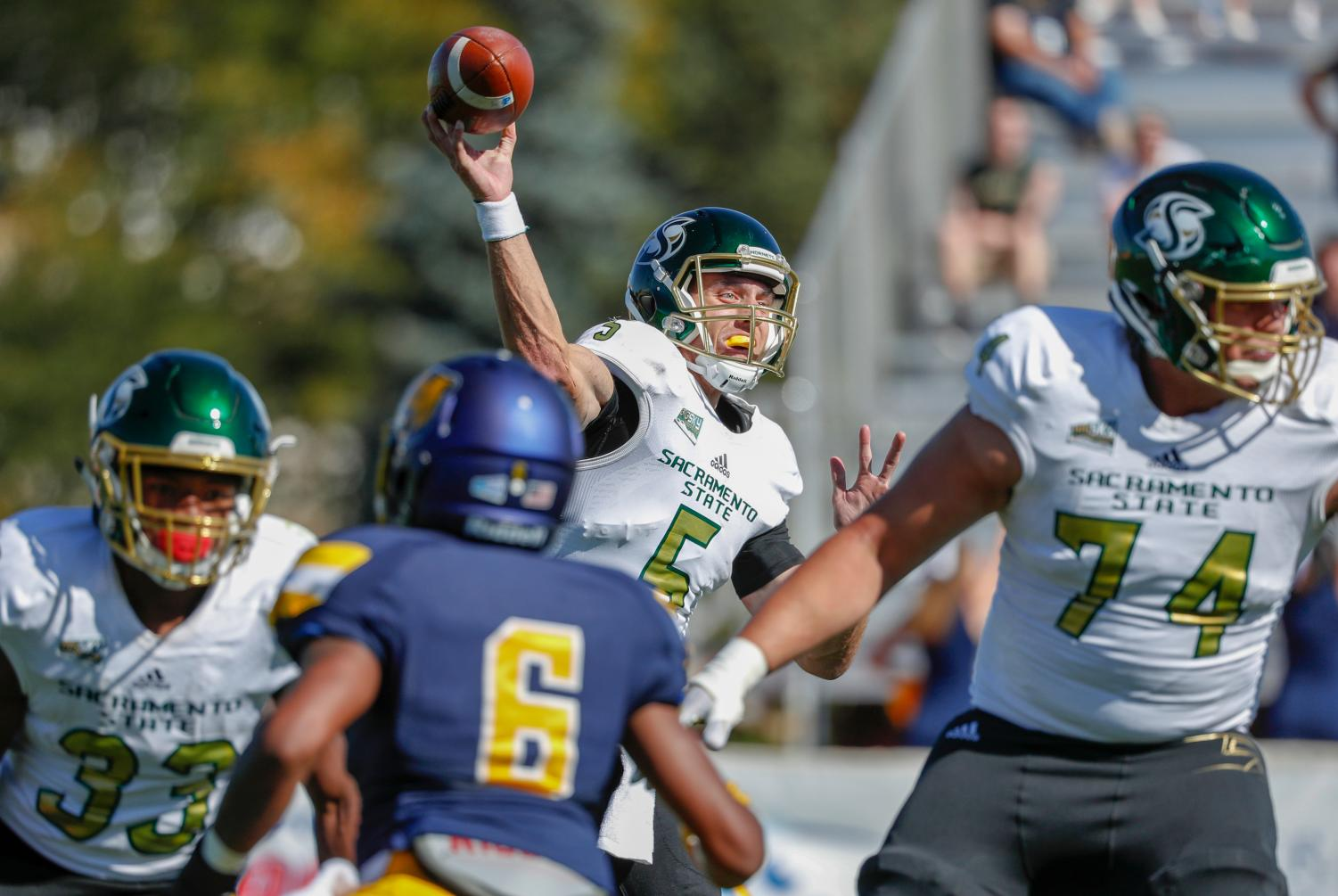 University of Northern Colorado plays Sacramento State Saturday September 15, 2018 at Nottingham Field in Greeley, CO.