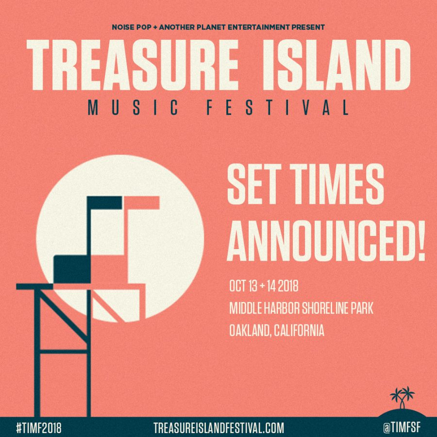 Artists+such+as+Tame+Impala%2C+A%24AP+Rocky+and+more+will+perform+at+this+year%27s+Treasure+Island+Music+Festival+in+Oakland.+The+lineup+features+25+artists+that+will+perform+over+the+course+of+two+days+on+Oct.+13+and+14.