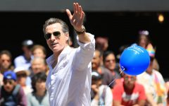 Lt. Governor Gavin Newsom at the 2014 San Francisco Pride Parade. Newsom has held the lead for the 2018 race for governor, the top of the ballot for state offices on the ballot Nov. 6.