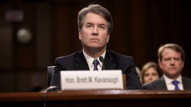 Brett Kavanaugh attends Senate Judiciary Committee hearing on his nomination to the U.S. Supreme Court.