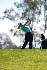 Sac State junior golfer Sofie Babic is one of four returning starters from last season