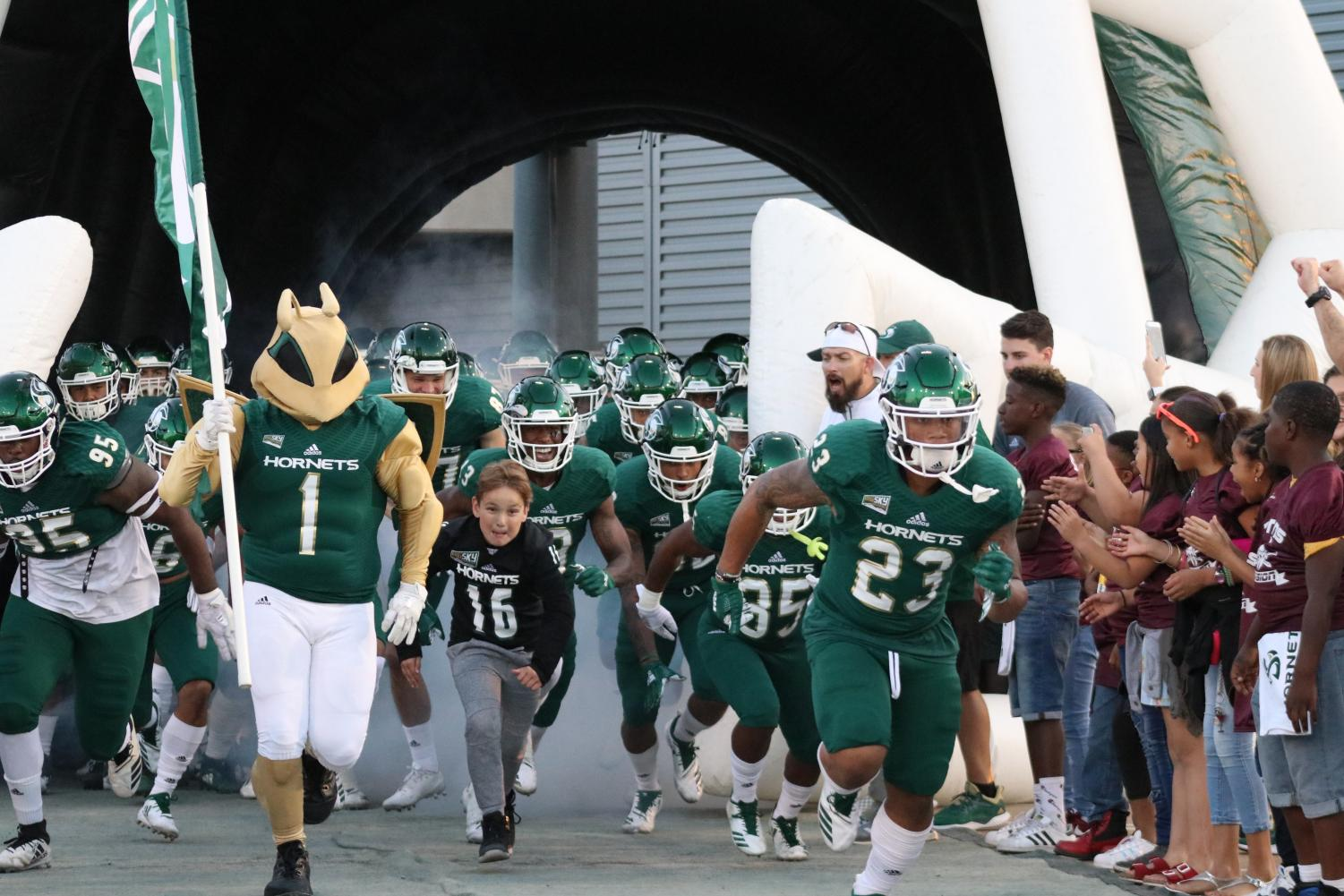 Sac State takes the field on Oct. 20 against North Dakota. The Hornets will host Portland State Saturday at 6 p.m.