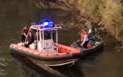Woman rescued after jumping off Guy West Bridge
