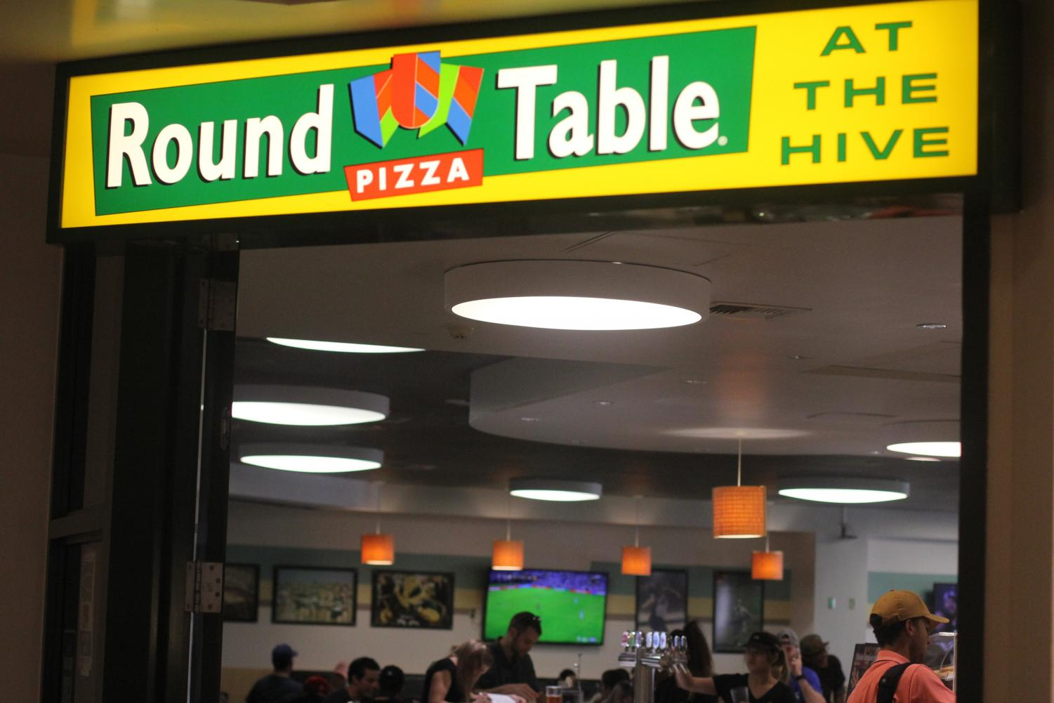 Detective Jason Johnston of Sacramento State Police Department recommends that Round Table Pizza, the only place on campus that serves beer on tap, put more surveillance cameras inside the restaurant.