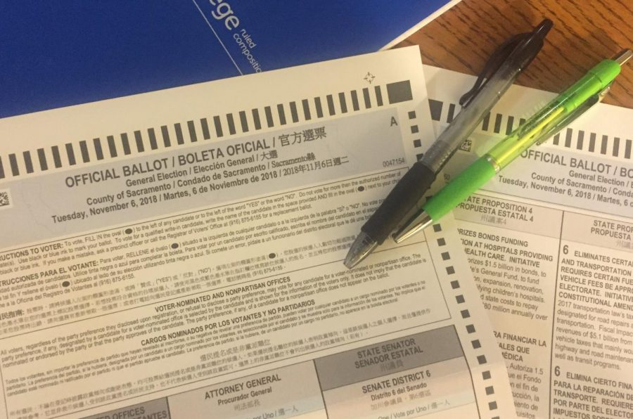 A+sample+of+the+Nov.+6%2C+ballot.+California+voters+will+have+a+total+of+11+propositions+to+vote+on.