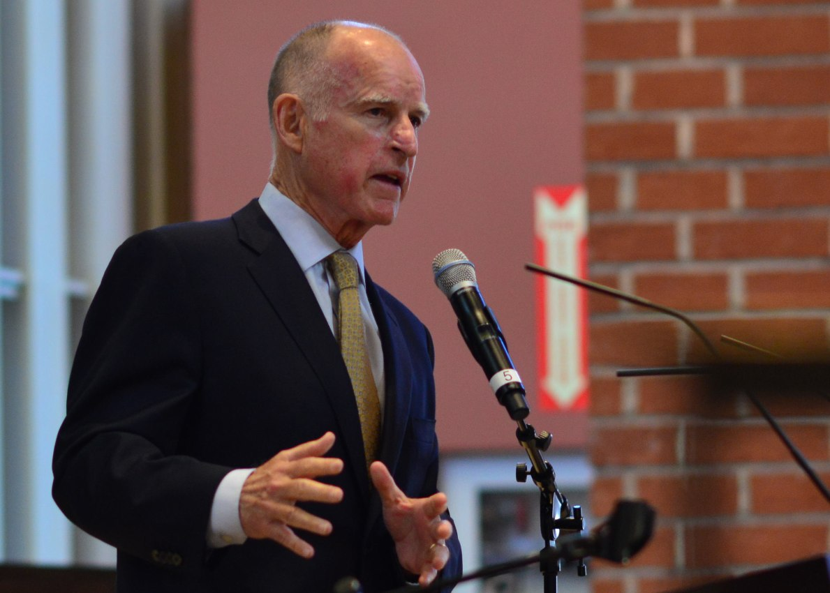 Jerry Brown has served as California's Governor for the past eight years. Earlier this week, Brown signed and vetoed state legislation for the last time as governor.