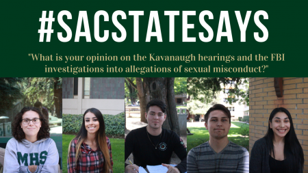 Panel of Sac State campus members discuss Kavanaugh confirmation