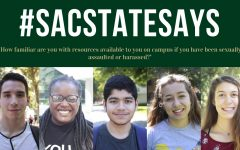#SacStateSays: How familiar are you with resources available to you on campus if you have been sexually assaulted or harassed?