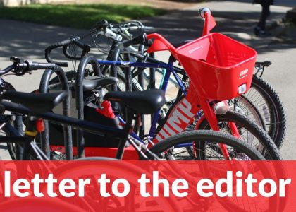 Letter to the editor: JUMP bikes should be embraced