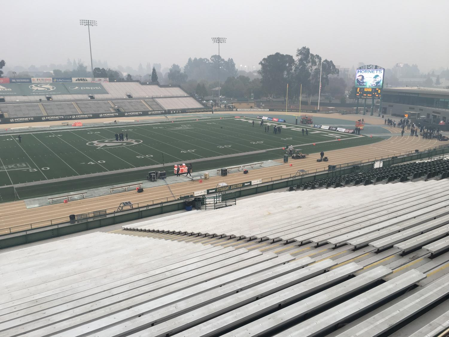 UC Davis announced that the 65th Causeway Classic against Sac State will be moved to University of Nevada, Reno on Saturday due to air quality concerns.