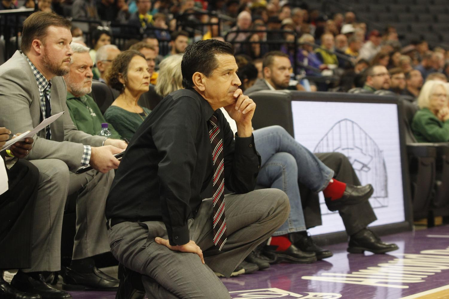 Sac State head coach Brian Katz is entering his 11th season as the head coach of the Hornets. The team returns 10 players and opens the season at home tonight against Simpson University.
