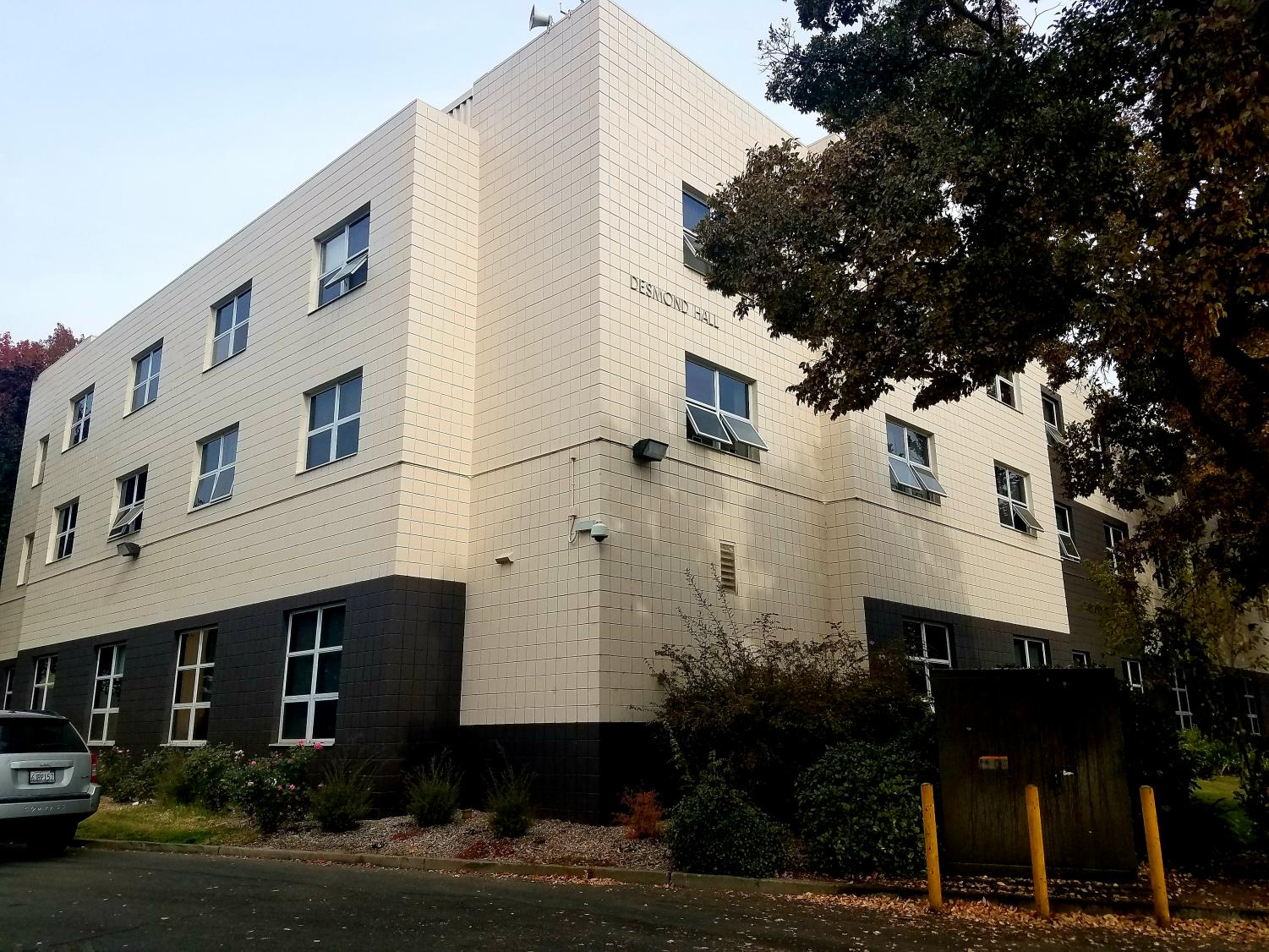 Desmond Hall, founded in 1991, is one of six residence halls where first-year students at Sac State can live on campus.