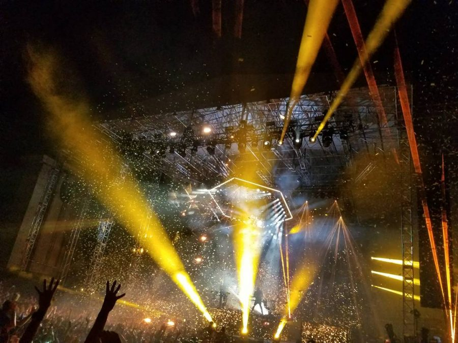 ODESZA+performing+for+their+%22A+Moment+Apart%22+tour+at+the+Greek+Theater%2C+UC+Berkeley+on+Oct.+26%2C+2017.+The+duo+released+8+reprised+songs+in+their+%22A+Moment+Apart%22+deluxe+edition.
