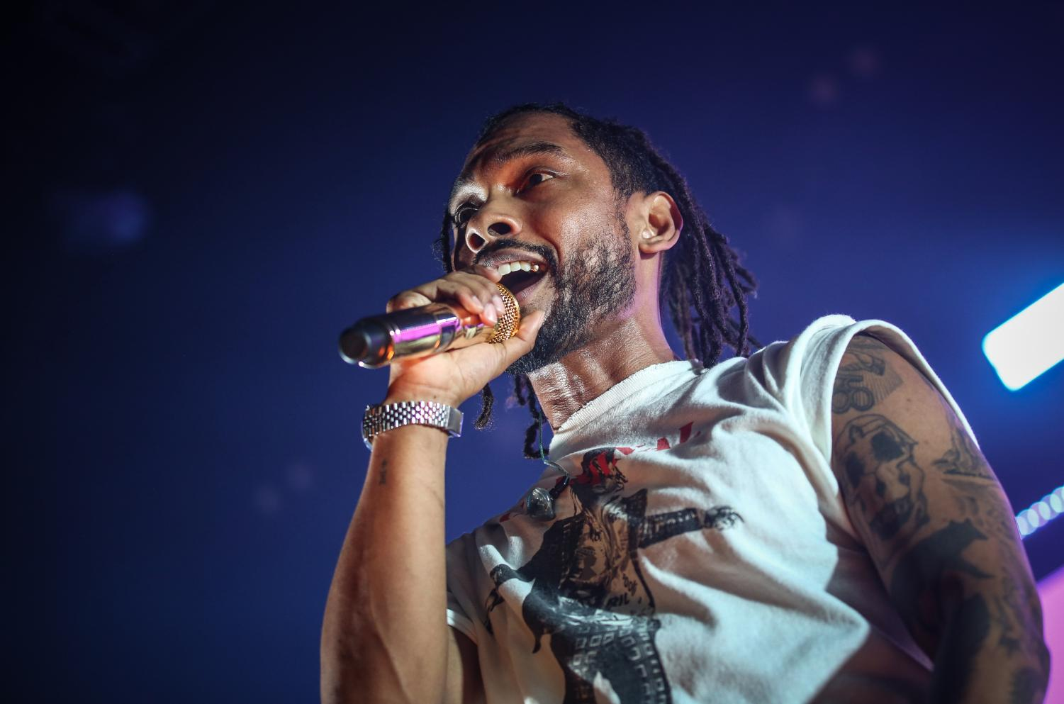 Miguel singing at the War and Leisure Tour St. Paul Palace Theatre on Mar. 2, 2018. The singer/songwriter will be headlining this year's Sol Blume festival in Sacramento.