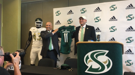 Troy Taylor introduced as next head football coach at Sac State