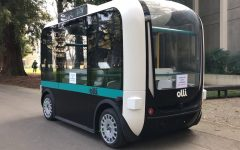 Video: Meet Sac State's new resident, Olli the autonomous vehicle