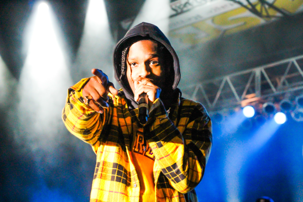 Rapper A$AP Rocky held a well-produced and dynamic performance as part of his 'Injured Generation' tour at the Golden 1 Center in Downtown Sacramento on Feb. 1.