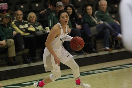 Women's basketball team squanders early lead, lose to Portland State