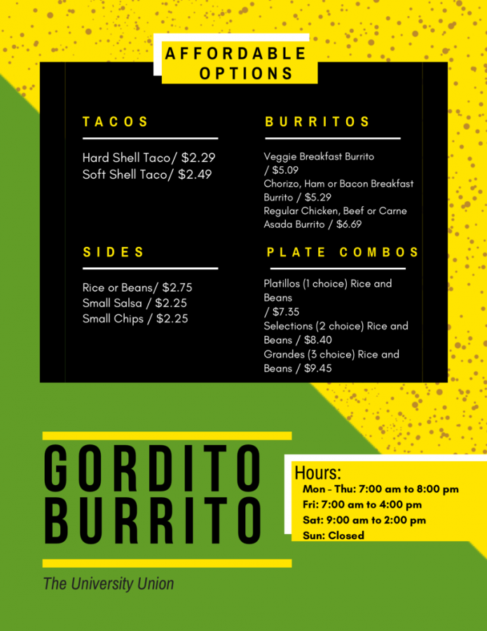 Gordito+Burritos%27s+most+affordable+options+on+their+menu+as+of+Wednesday+Jan.+30%2C+2019.