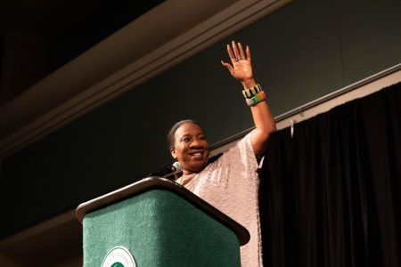 #MeToo founder Tarana Burke gives lecture at Sac State
